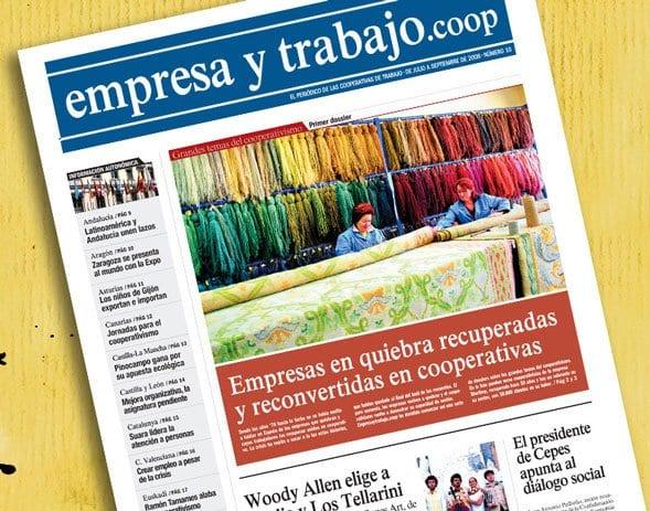 Un periódico para las cooperativas: 'empresa y trabajo.coop'