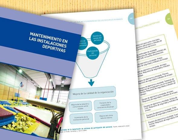 Diseño del manual Buenas Prácticas en Instalaciones Deportivas