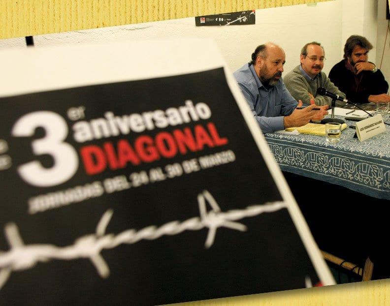 """Jornadas """"Diagonal: una herramienta para el debate"""""""
