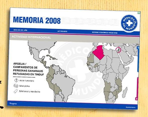 Una memoria para Médicos del Mundo en España