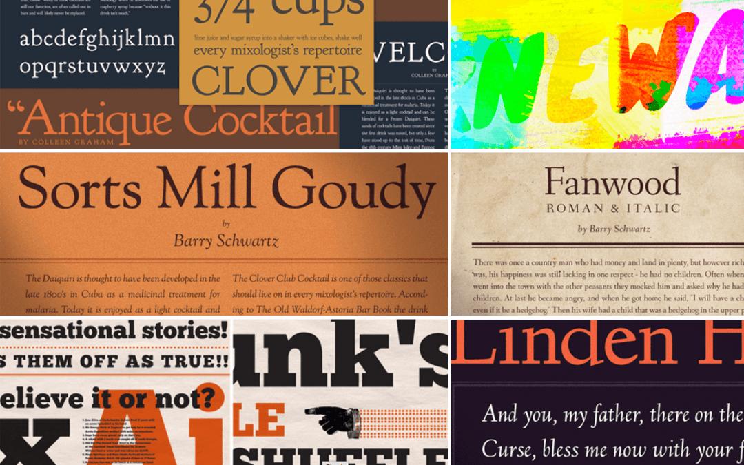 Open Fonts: tipografías libres para tus diseños