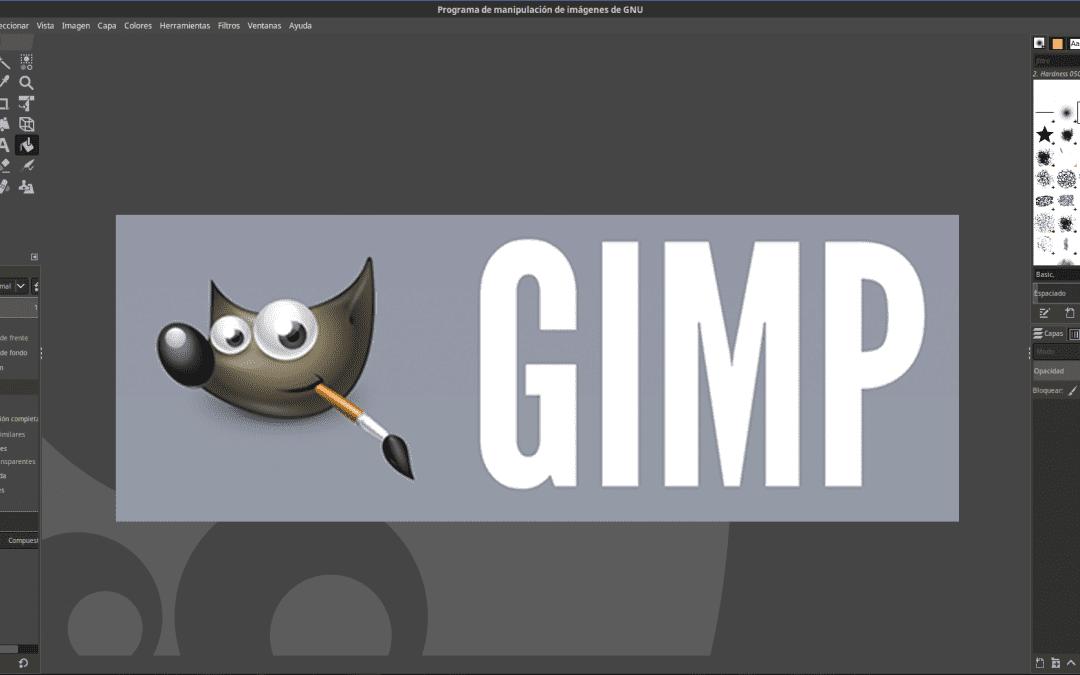 Gimp: software libre para edición y diseño de imágenes