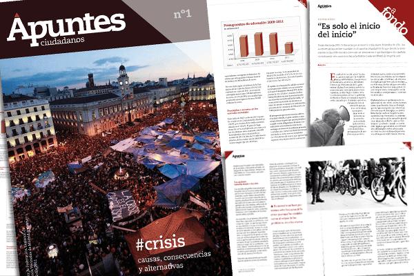 """""""Apuntes Ciudadanos"""", el nuevo anuario de la FRAVM"""