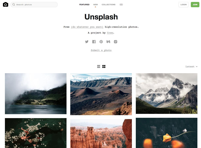 Unsplash Fotos De Alta Resolución Libres Para Tu Diseño