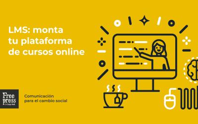 LMS: monta tu plataforma de cursos online con WordPress y haz que tu alumnado flipe desde casa