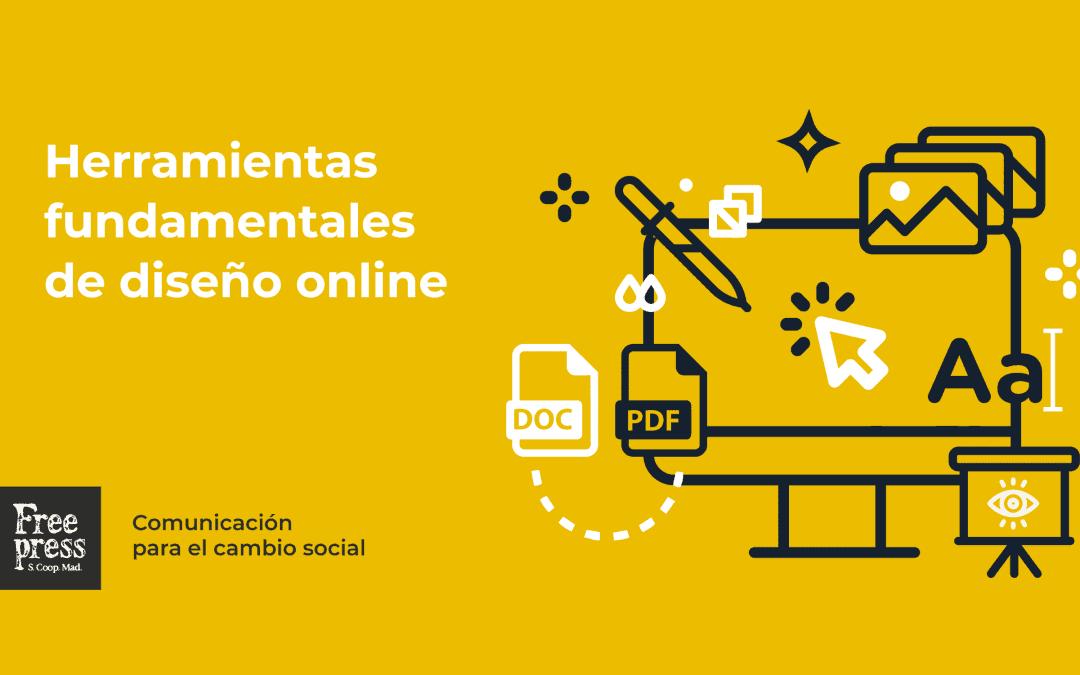 Herramientas fundamentales de diseño online